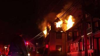 People Jump From Windows in NJ House Fire