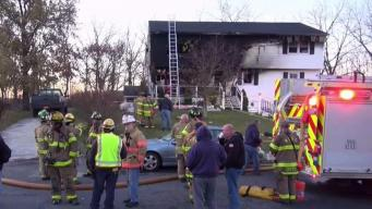 Several Injured After Fire Tears Through Hudson Valley Home