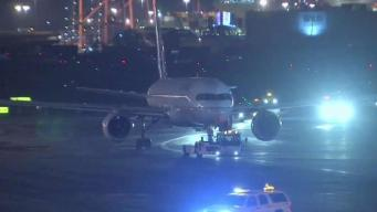 Plane Fire Forces Closure of Newark Airport