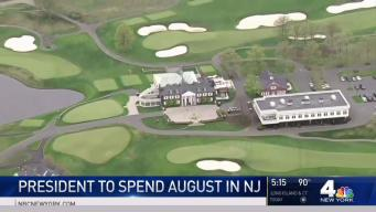 President Trump to Spend August in New Jersey