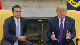 Puerto Rico Governor Heads to Washington After Maria