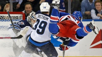 Rangers Lose to Jets 2-5