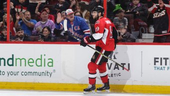 Sens Clinch 2nd Place in Atlantic With 3-1 Win Over Rangers