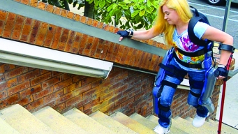 Paraplegics Walk With Exoskeleton Technology