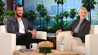 Hemsworth Left Speechless By Daughter's Request