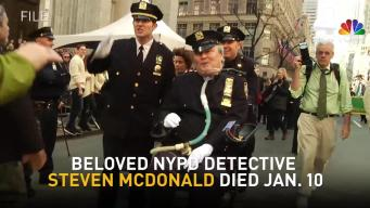 New Yorkers Line the Streets for Det. Steven McDonald