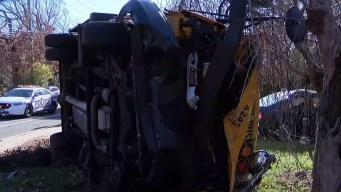 School Bus Crashes With Kids on Board