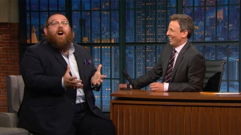 'Late Night': Nick Frost Once Powerbombed Simon Pegg