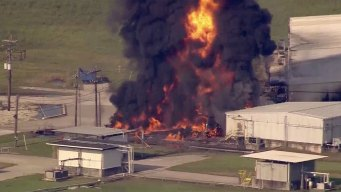 Officers, Medics Sue Over Chemical Plant Fire After Harvey
