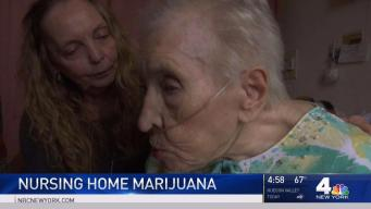 Senior Citizens at Nursing Home Embrace Marijuana