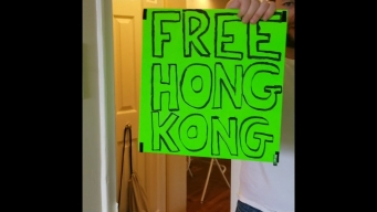 76ers Fan Says He Was Kicked Out Over Hong Kong Sign