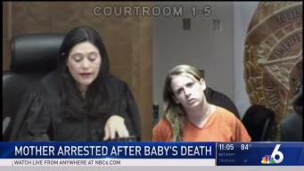 South Florida Mother Arrested After Baby's Death