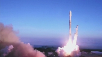 Used SpaceX Rocket Blasts Off From California Coast