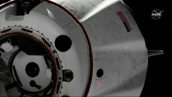 Crew Returns from ISS on SpaceX 'Dragon'