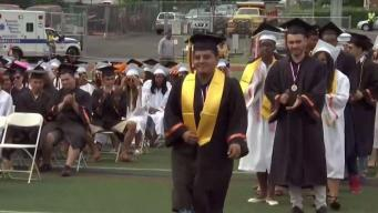 Star Student Who Lost Leg in Freak Accident Graduates