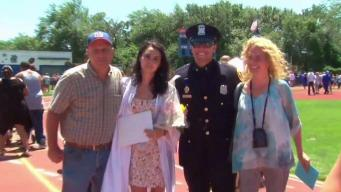Suffolk Teen Rescued by Officer Invites him to Graduation