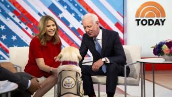 Sully Meets Sully: Bush Service Dog Meets Hero Pilot