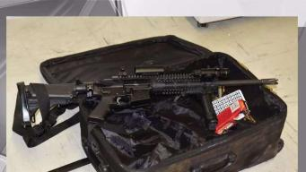 Suspect Arrested With AR-15 and Ammunition