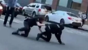 Suspect's Attempted Escape From Police Caught on Camera