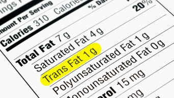 Trans Fat Linked to Worse Memory: Study