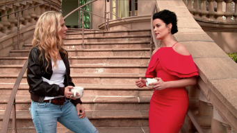"""Jaimie Alexander Is Tired of Getting Beat up on the Set Of """"Blindspot"""""""