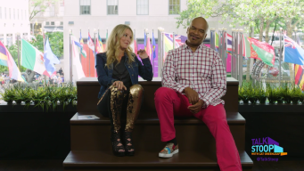 David Alan Grier Tells Cat Greenleaf Where You Never Touch a Man!