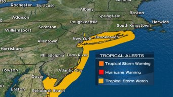 Tropical Storm Watch for NYC, NJ Shore As Hermine Nears