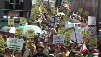 Teachers on Strike in Puerto Rico
