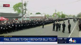 Thousands Mourn FDNY Firefighter Billy Tolley