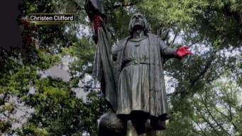 Town Says It Will Take NYC's Columbus Statues