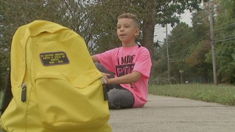 Boy Helps People Recovering From Addiction After Dad's Death