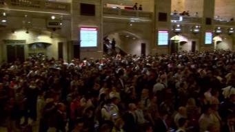 Trains Back on Track After Grand Central Nightmare