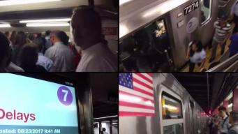 Trash Causes Hours Long Subway Chaos