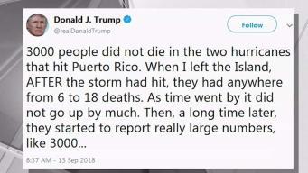 Trump Tweet on Death Toll Angers NYC Puerto Ricans