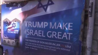 Trump to Begin Visit to Israel to Try and Kickstart Peace