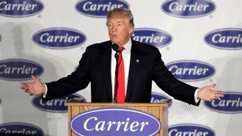 Trump Kicks Off 'Thank You Tour' at Indiana Factory