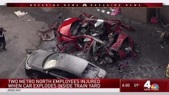 Two MTA Employees Hurt in Car Explosion