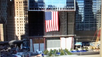 Another Flag Unfurled at 1 WTC