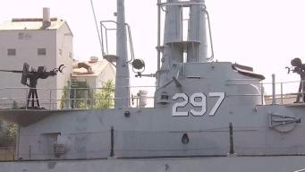 Vandals Flood WWII Submarine in NJ
