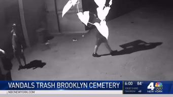 Vandals Trash Brooklyn Cemetery