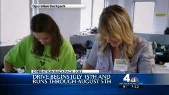 Packing It In: Operation Backpack