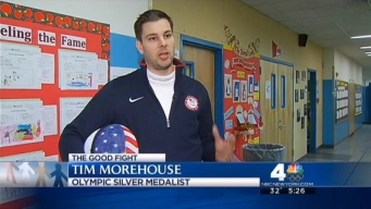The Good Fight: Olympic Medalist Tim Morehouse Visits East Harlem