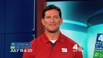 Join New York Giants Kicker Steve Weatherford at the Health & Fitness Expo