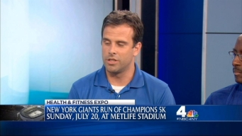 NBC 4 New York's Health and Wellness Expo: New York Giants Run of Champions 5K