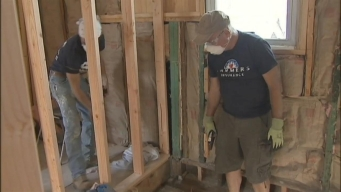 Volunteers Speed-Rebuild Sandy-Damaged NJ Home