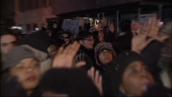 Clashes With Police Mar NYC Protest March