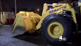 Long Island Prepares for Winter Storm