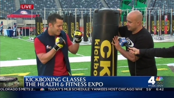 2016 Health and Fitness Expo: Kickboxing