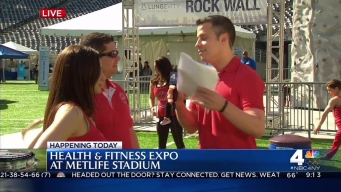 2016 Health and Fitness Expo: Gymnastics