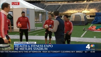 2016 Health & Fitness Expo: Soccer
